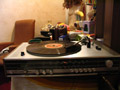 RECORD PLAYER VITH RADIO